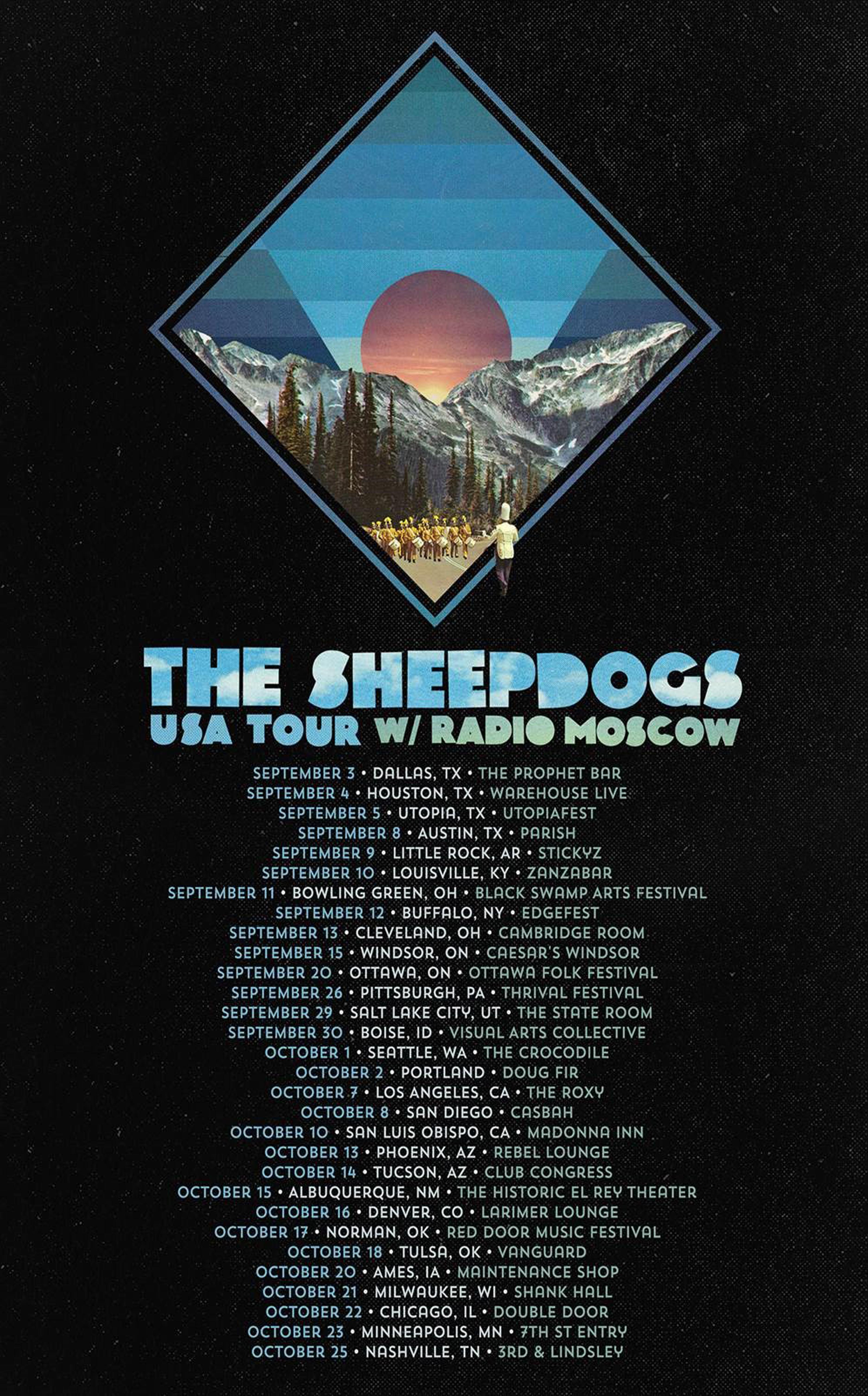 Sheepdogs Ad Mat